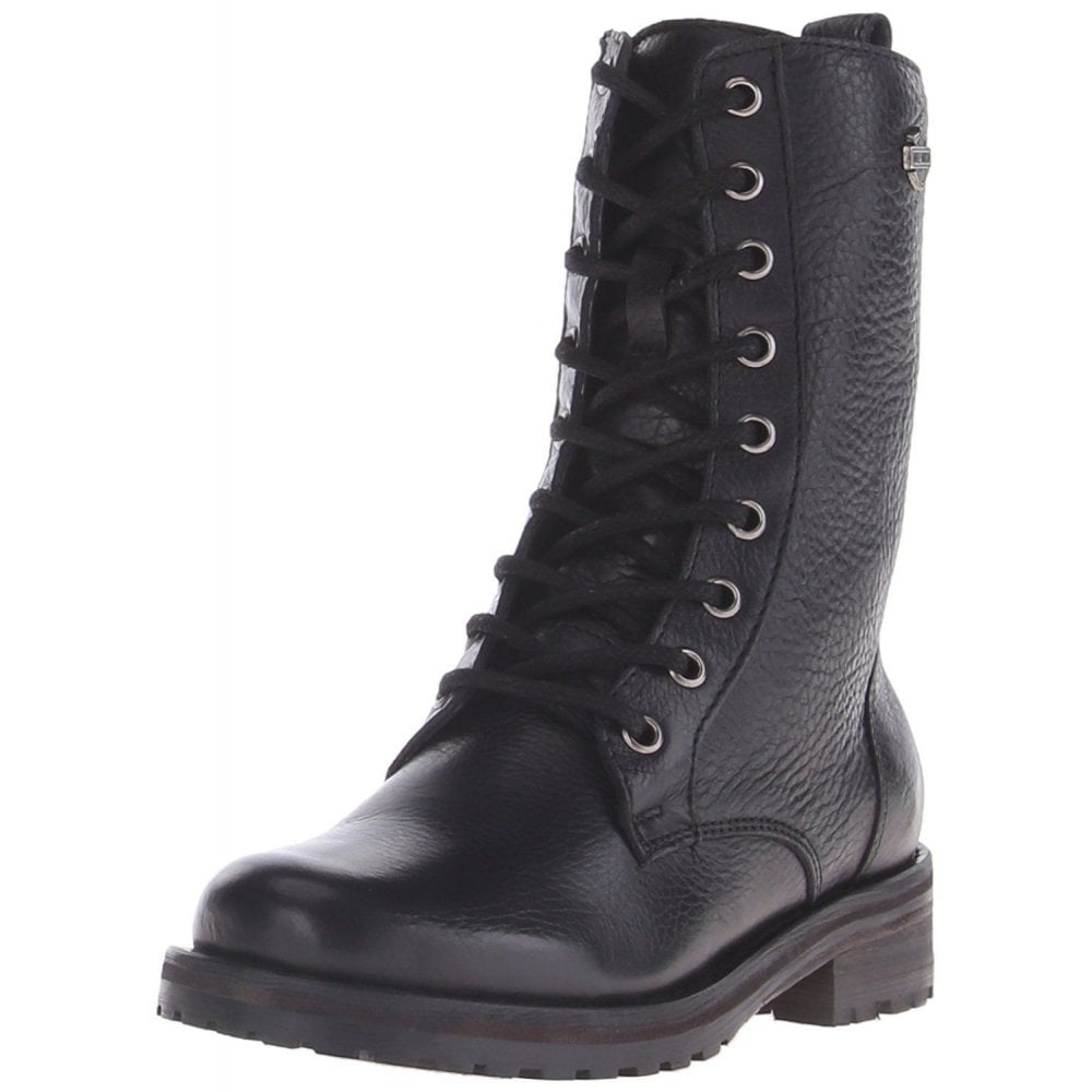 Download Ladies Black Leather Biker Boots Uk Pics
