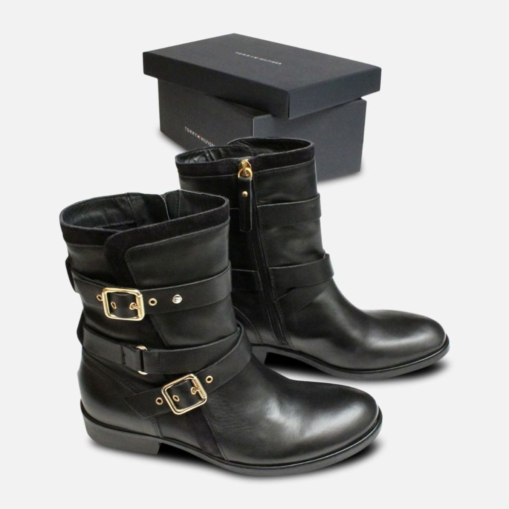 Get Black And Gold Motorcycle Boots Pictures